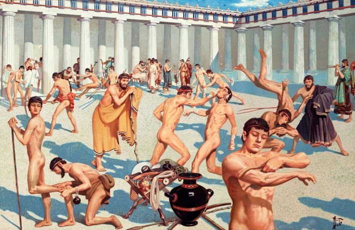 Ancient Greek athletes