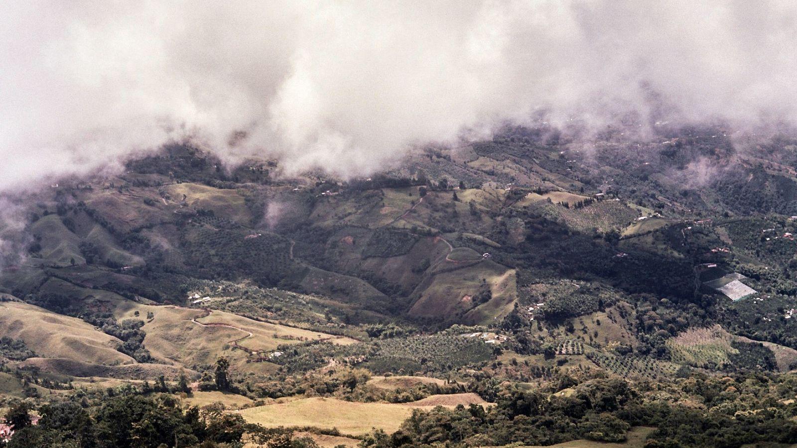 As encostas tropicais e férteis de Caldas foram declaradas Patrimônio da Humanidade pela UNESCO, como parte ...