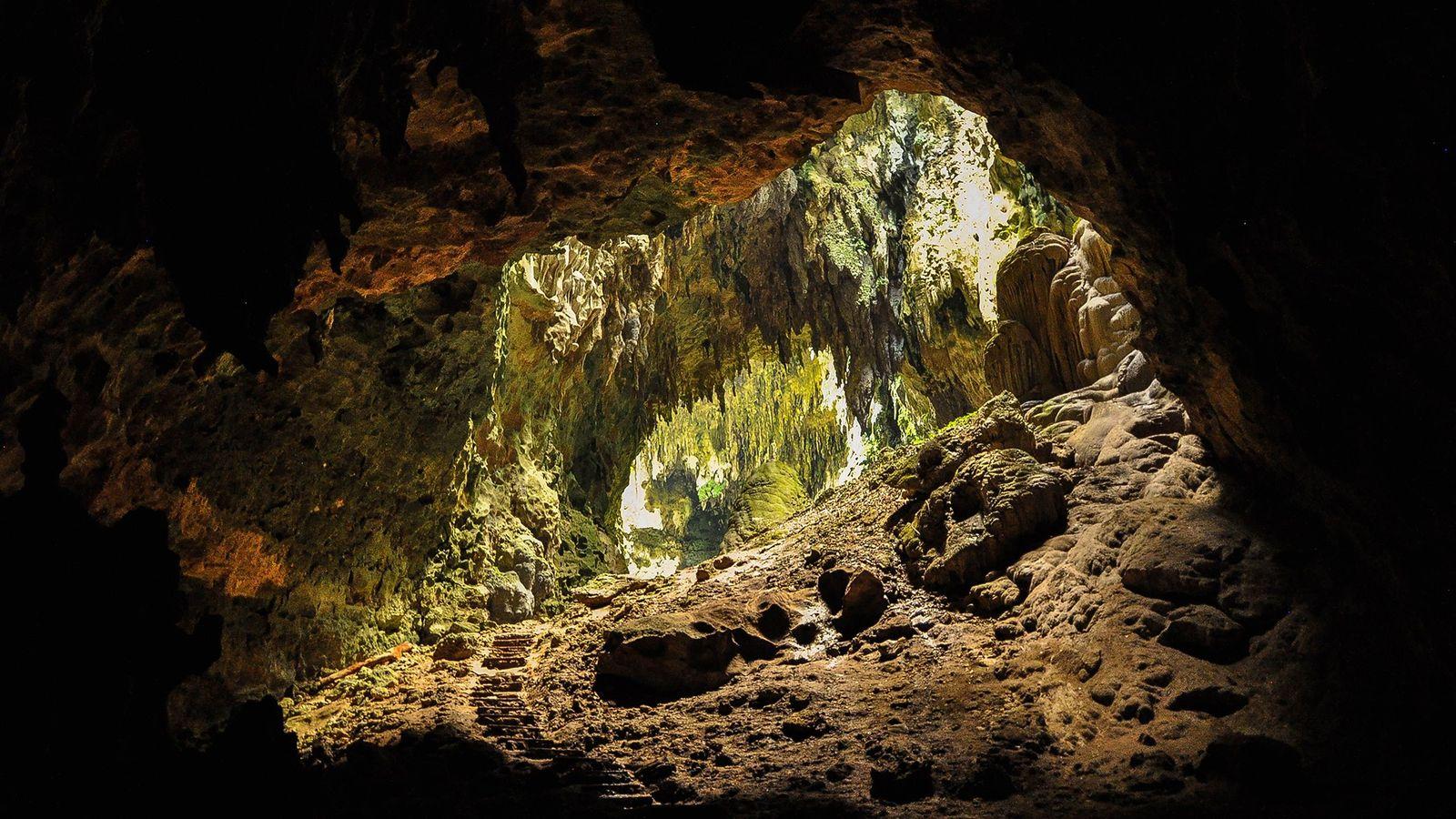 Pesquisadores que escavaram a caverna de Callao nas Filipinas encontraram dentes e ossos que afirmam pertencer ...
