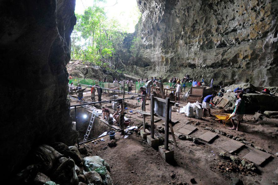 A caverna de Callao está situada na extremidade norte de Luzon, uma ilha que não esteve ...