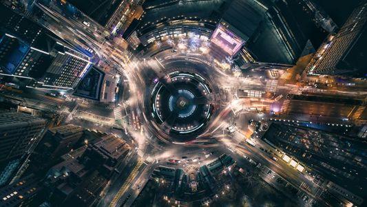 O nosso mundo visto de cima
