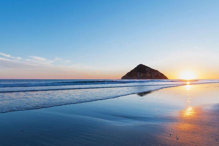 praia nova zelandia