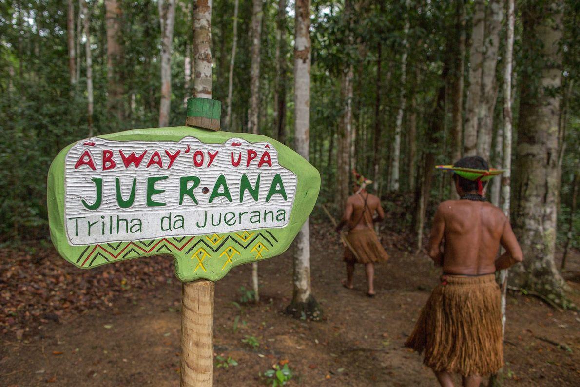 A Juerana é uma das três trilhas que visitantes podem fazer no Parque Nacional e Histórico ...