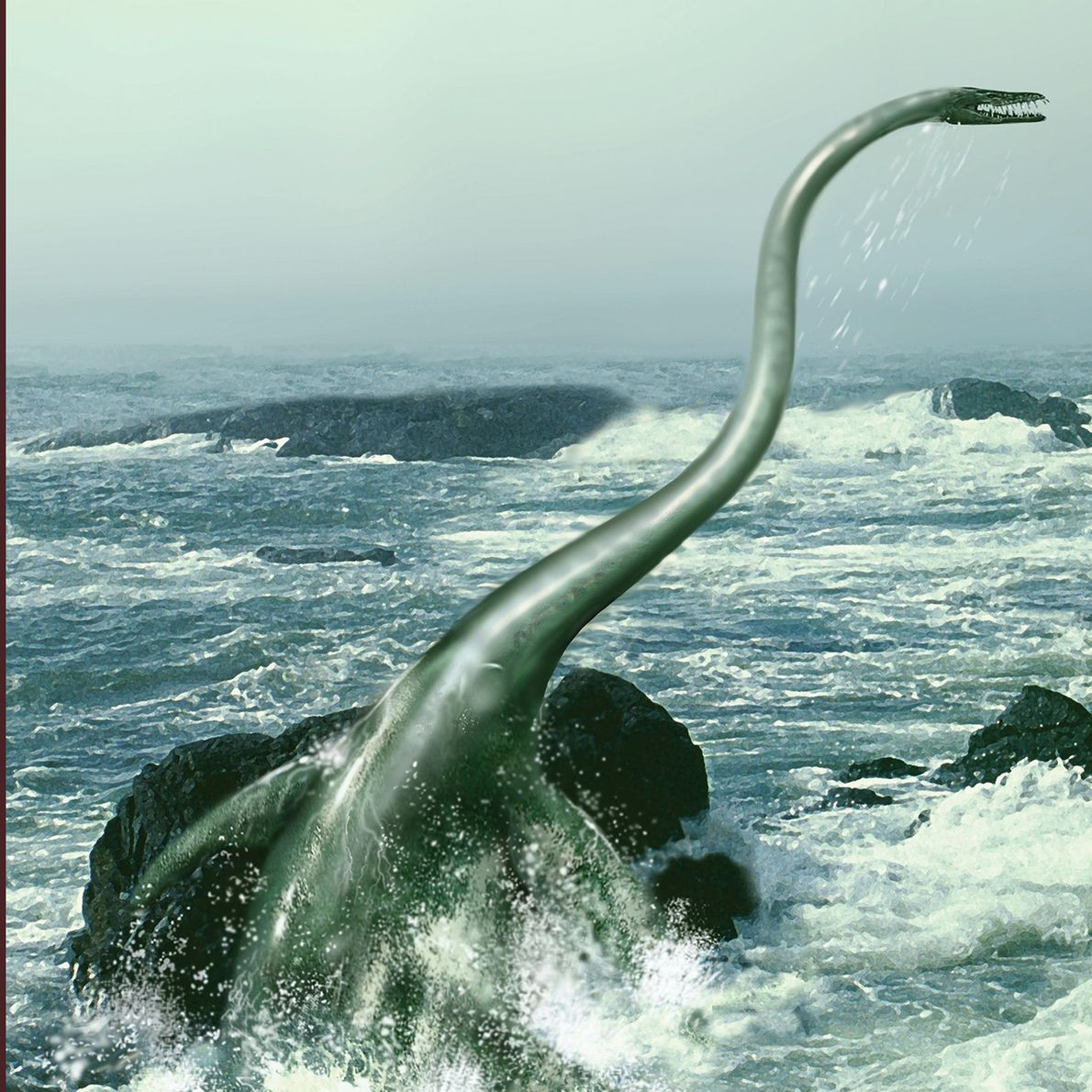 'Monstro marinho' fossilizado encontrado na Antártida era o mais pesado do gênero