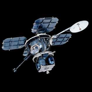 Além das imagens dos locais de pouso da Apollo, os Lunar Orbiters forneceram fotografias reveladoras, incluindo ...