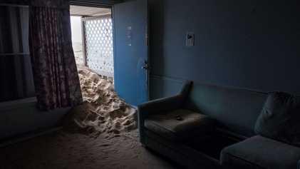 Esta comunidade costeira está sendo engolida pelo oceano