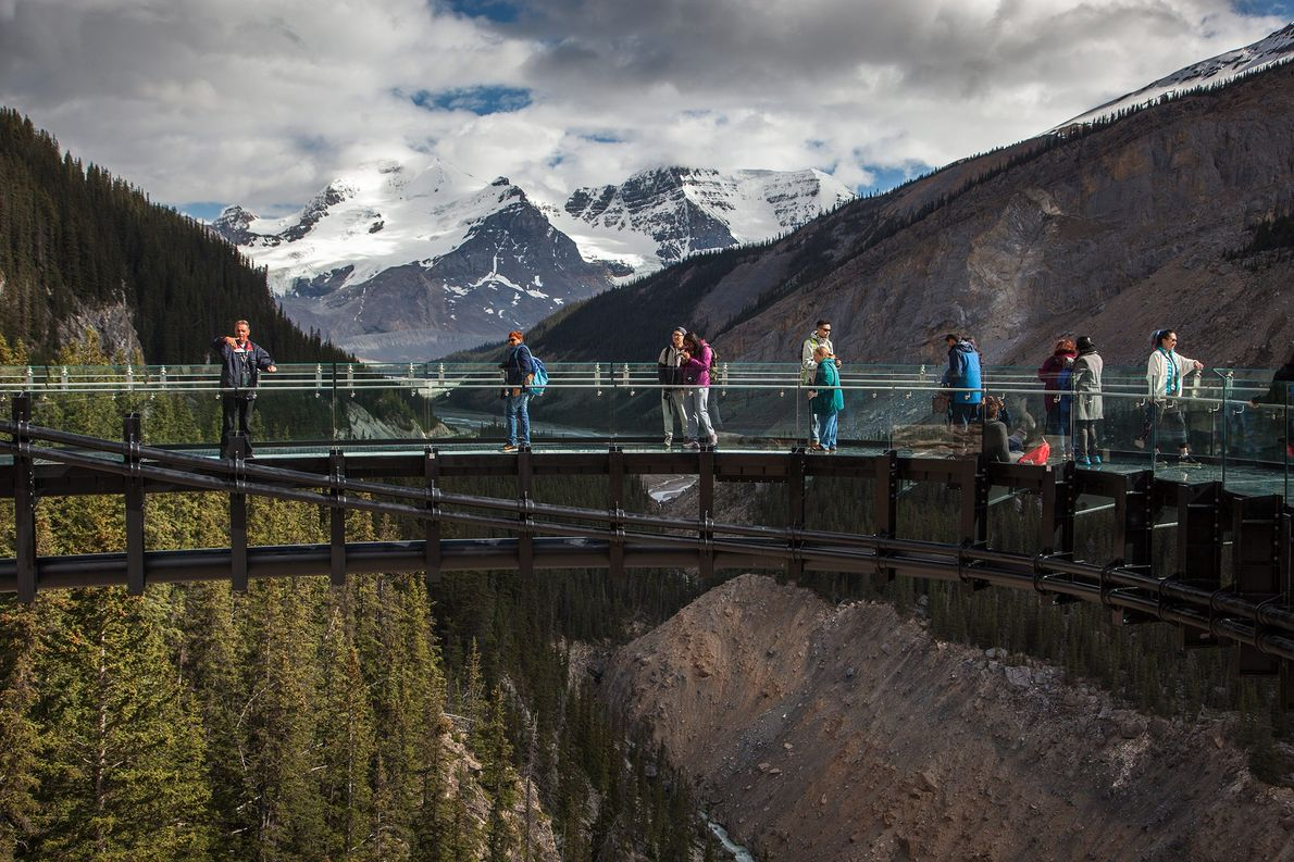 Glacier Skywalk, Alberta
