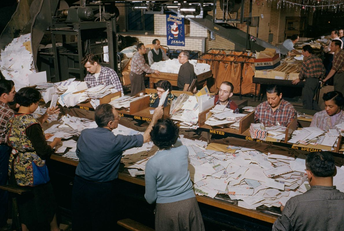 Sorting Mail