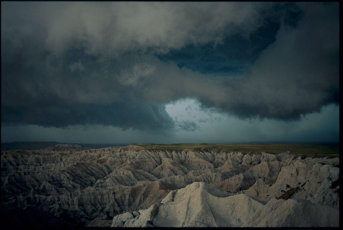 Tempestade nas Badlands