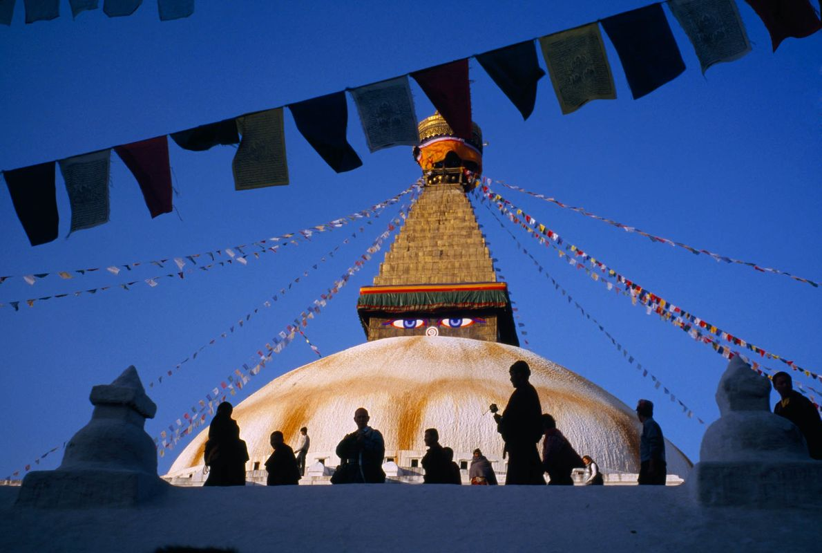 Peregrinos de Katmandu