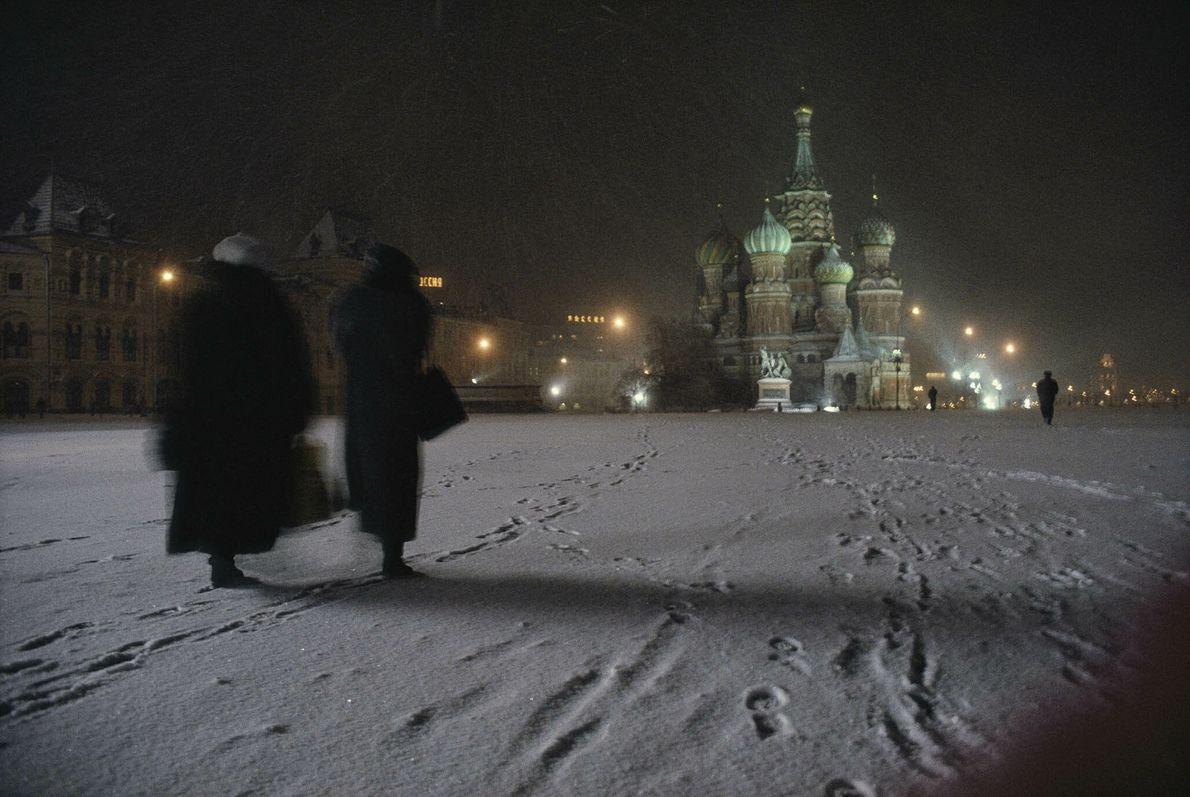 Praça nevada