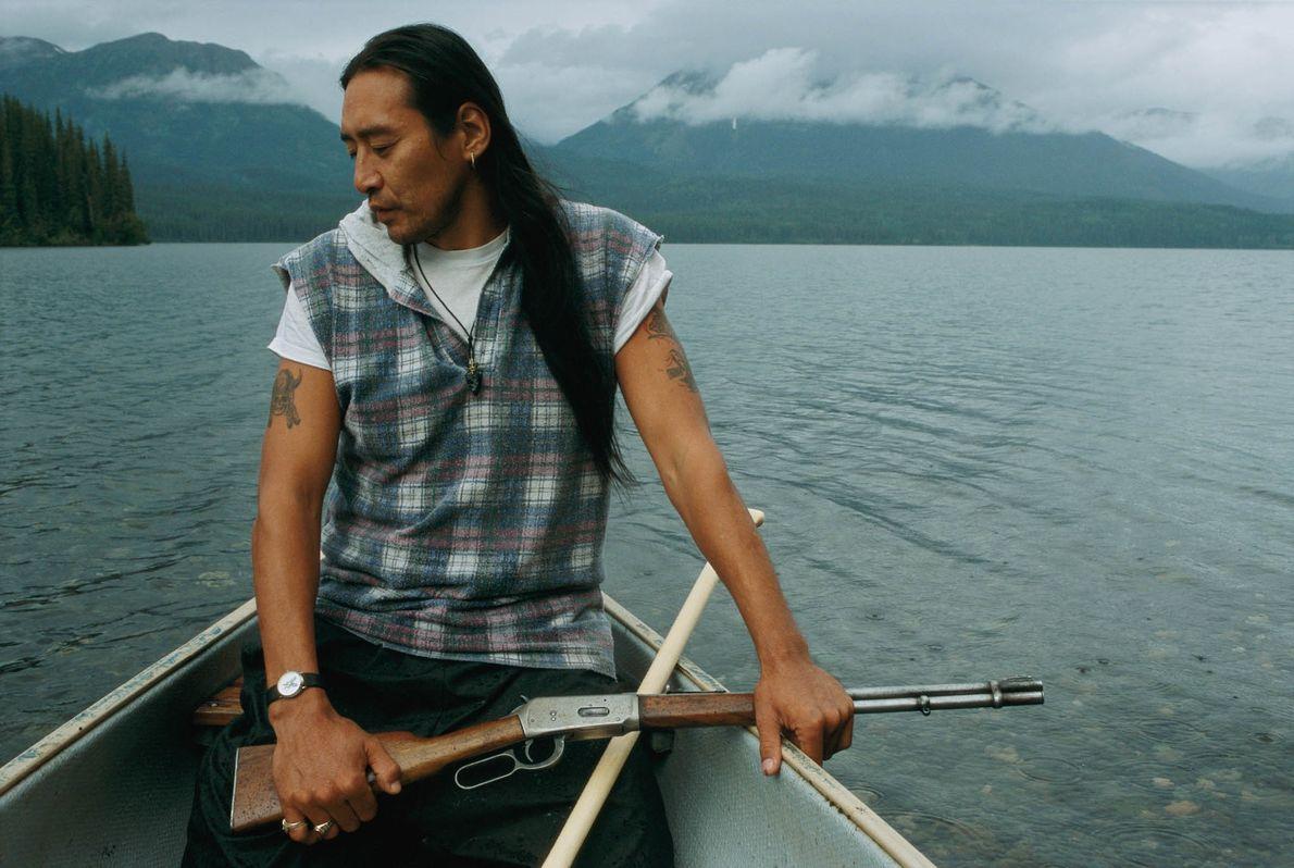 Canoa canoa desce