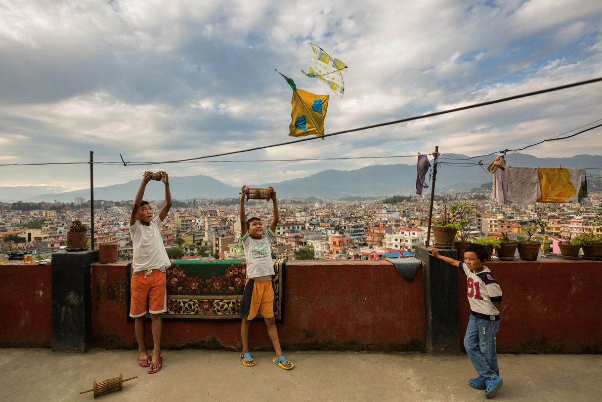 Pipas de Katmandu