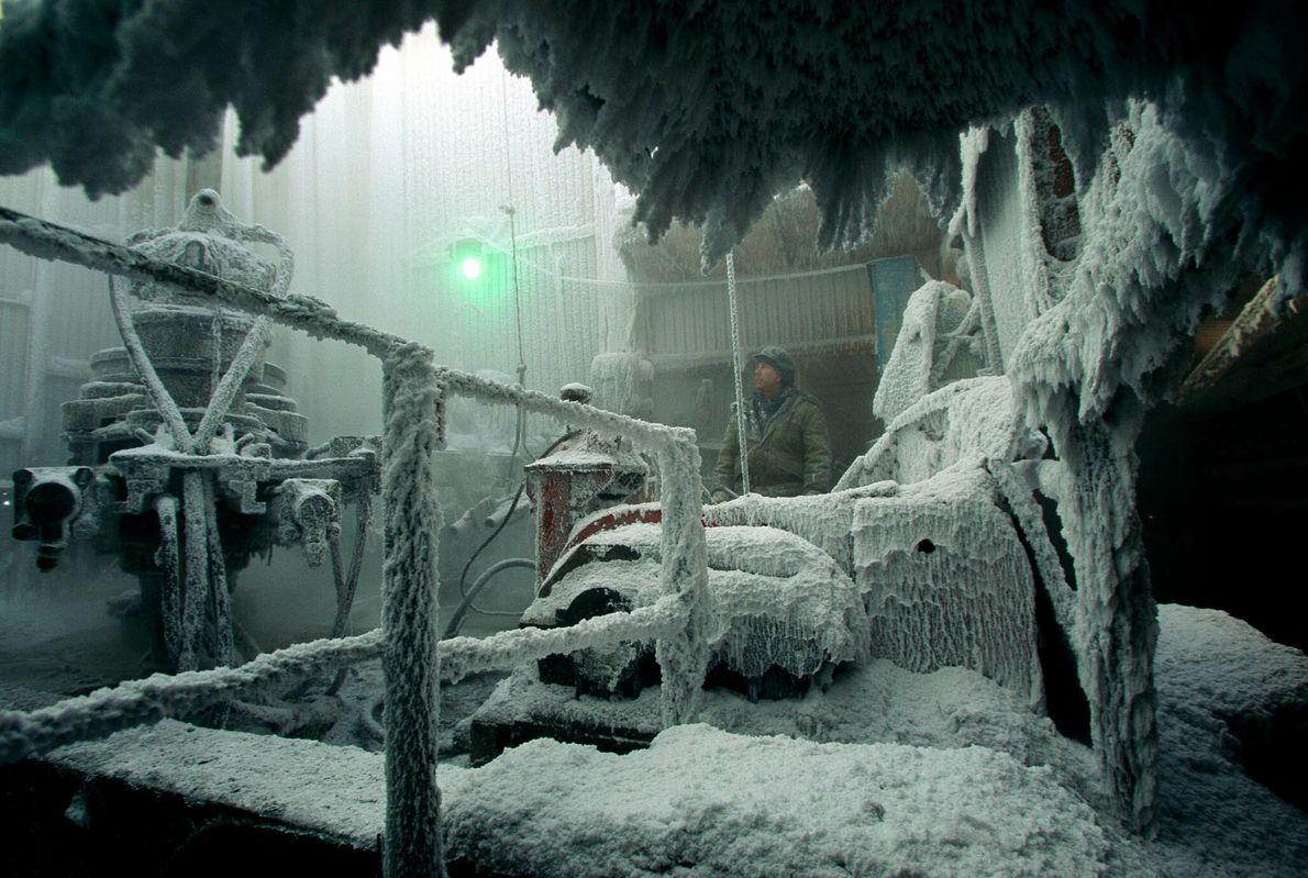 Coberto de gelo