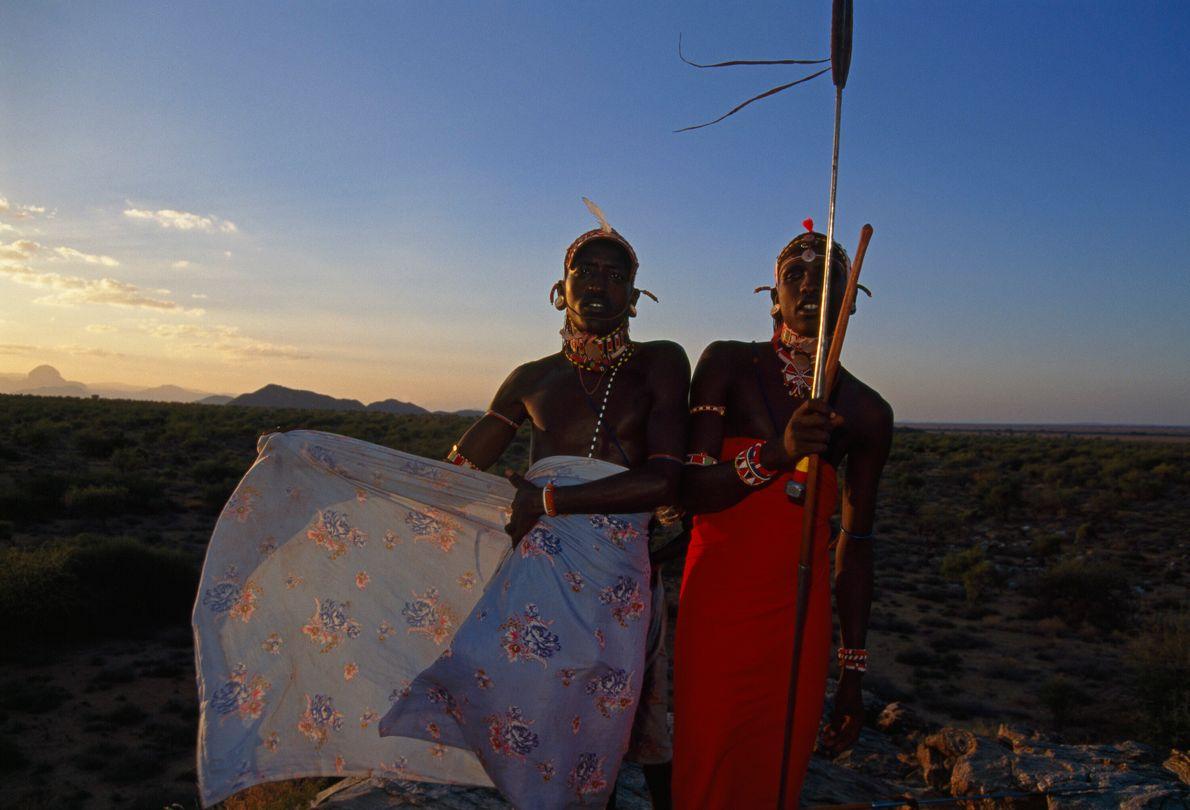 guerreiros ariaal no quenia