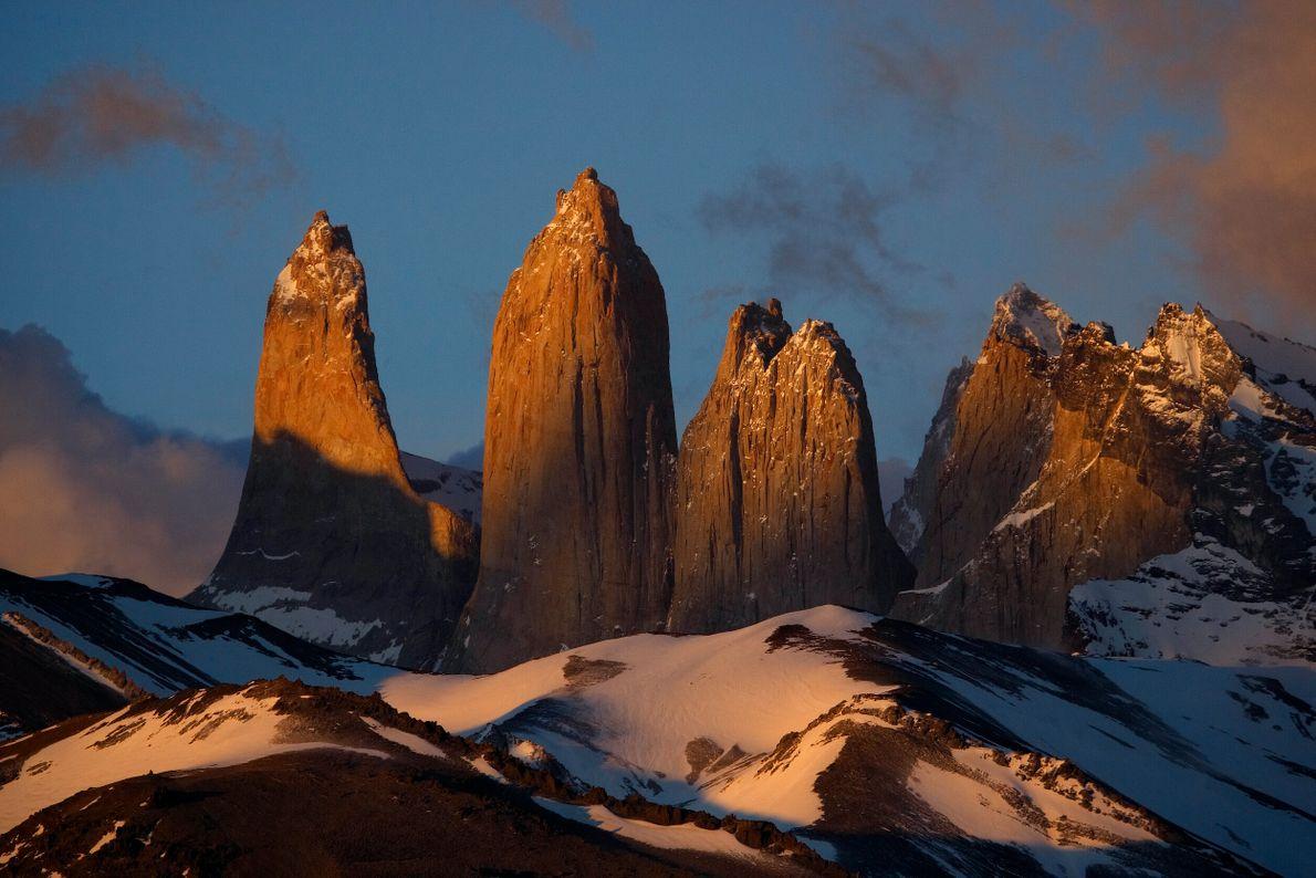 foto dos picos da Torres del Paine