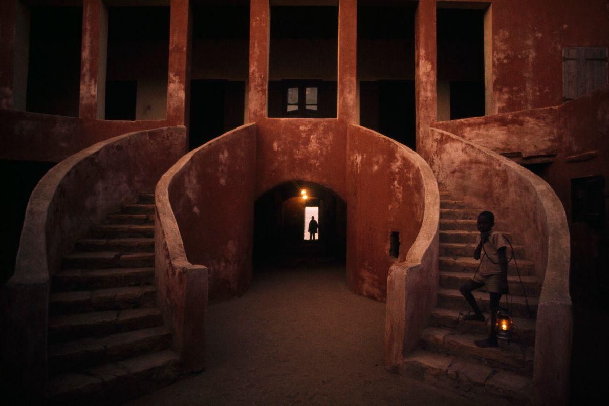 foto interna do museu Casa dos Escravos