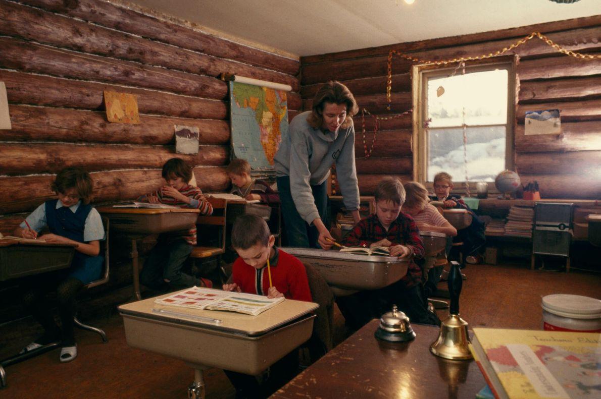 Escolinha no Alasca