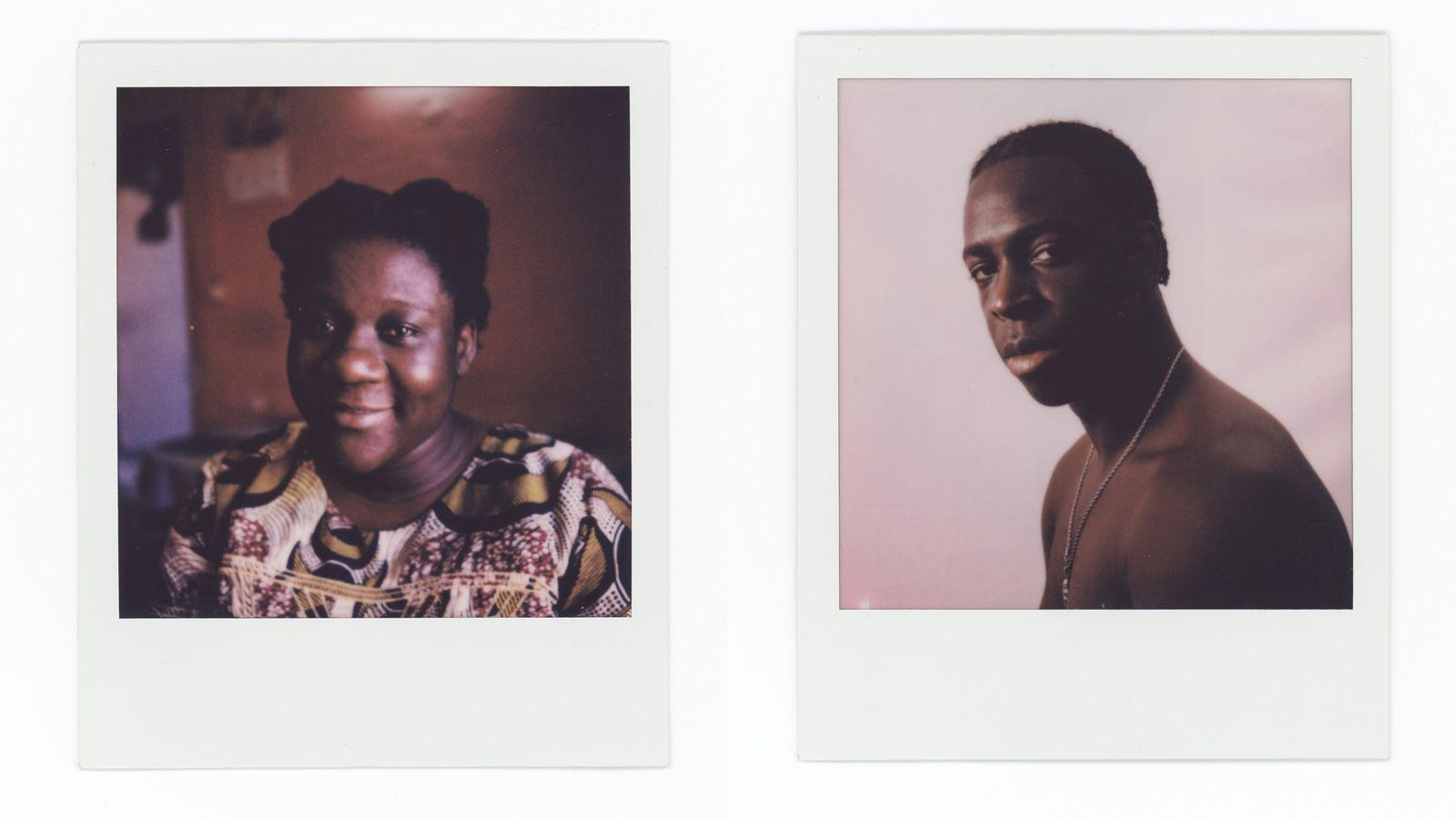 À esquerda: Manuela Pedro, 35 anos. À direita: Roberto Cravid, o Kid Robinn, 22 anos, rapper nascido e criado no bairro ...