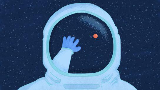 """O Planeta Vermelho é uma antiga obsessão dos humanos. """"Somos uma espécie de seres inteligentes e ..."""