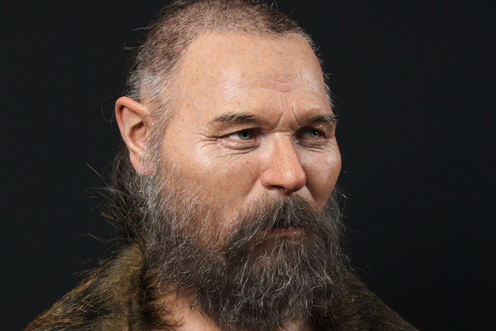 Exclusivo: reconstituído crânio escandinavo encontrado em local de rituais enigmáticos na Suécia