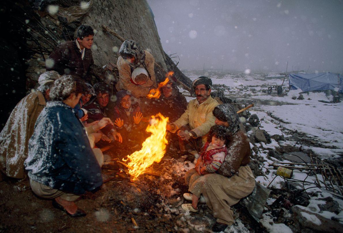 No começo dos anos 90 – depois de fugir de sua terra natal bombardeada pela guerra ...