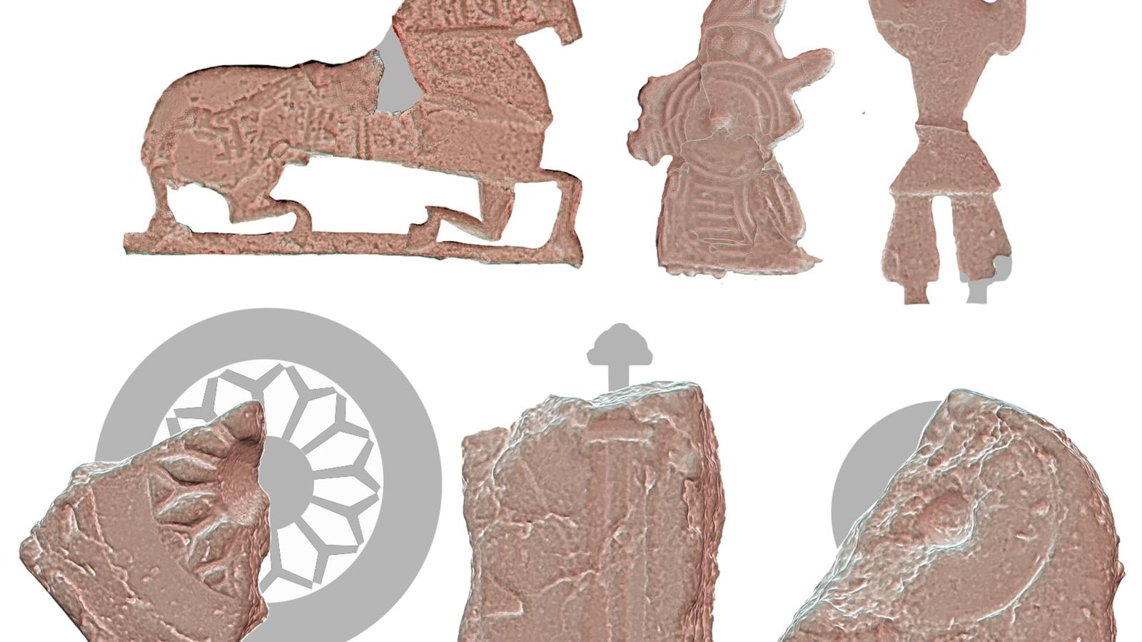 Artefatos encontrados em Ribe, na Dinamarca, revelam que uma variedade de designs foi produzida no local.