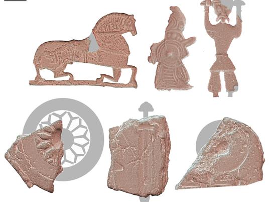 Descoberta de fábrica de amuletos viking faz arqueólogos repensarem artefatos enigmáticos