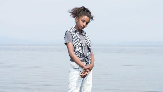 Riham Saad, de doze anos, foi nascida e criada em Damasco. Agora, ela e sua família ...