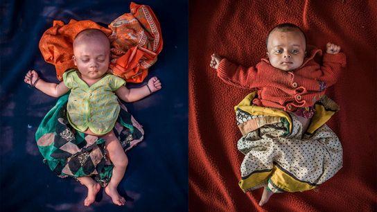 Cerca de 60 bebês nascem a cada dia em Cox's Bazar, Bangladesh, o maior campo de ...