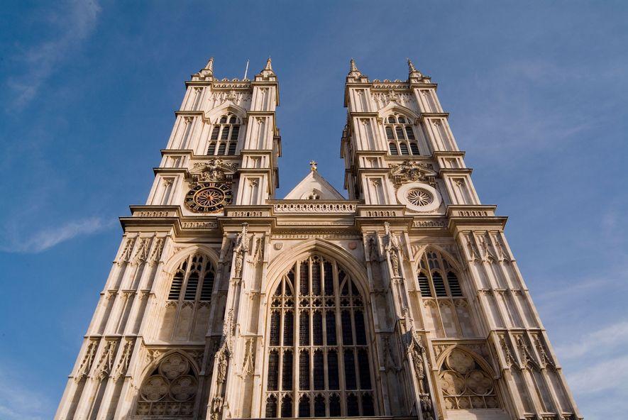 A Abadia de Westminster, fundada há mais de mil anos.
