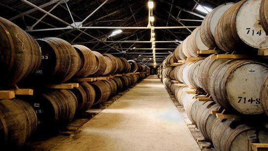 Glen Moray iniciou a produção em Speyside em 1897, mas muitas das destilarias históricas do país ...