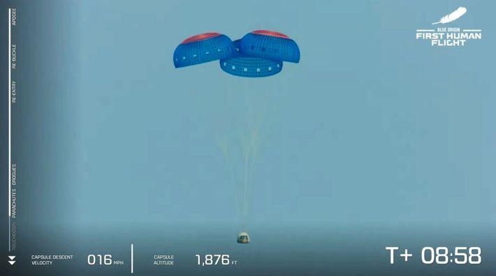 Blue Origin successful flight