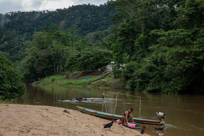 A agricultora Eva Maria Lima, moradora da comunidade Pé da Serra, dentro do Parque Nacional da ...