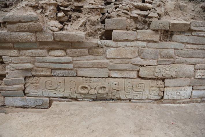 Shimao é o maior assentamento conhecido da Idade da Pedra na China, e apenas um pequeno ...