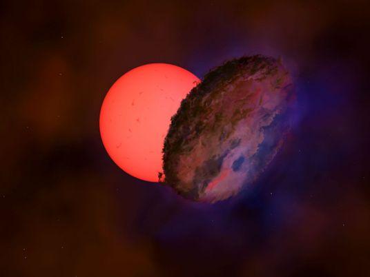Objeto misterioso encobriu estrela gigante por 200 dias