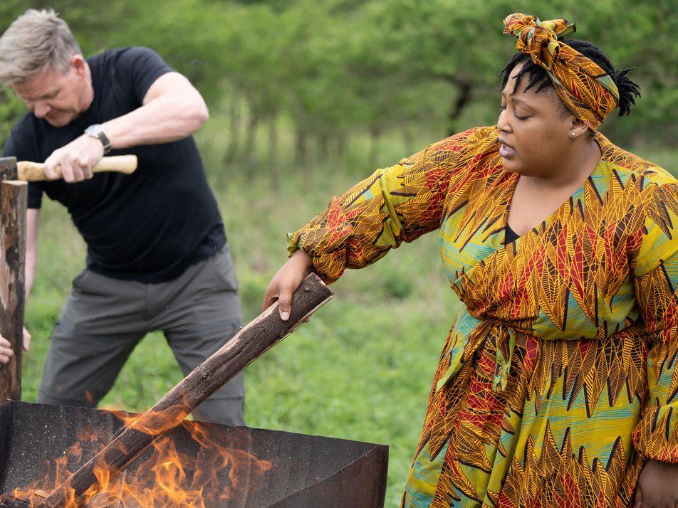Que chef é esse? Gordon Ramsay encontra Zola Nene na África do Sul