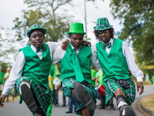 Ilha caribenha comemora o Dia de São Patrício com uma combinação única de culturas