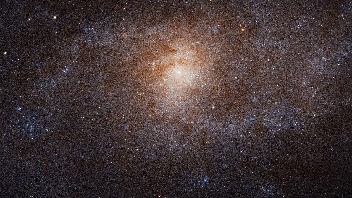 Astrônomos uniram 54 imagens do Telescópio espacial Hubble e criaram uma imagem em mosaico com a ...
