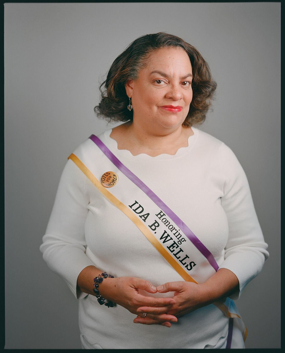 A bisneta de Wells, Michelle Duster, é ativista, já escreveu dois livros sobre Wells e arrecadou ...