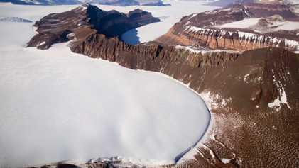 Maior manto de gelo da Terra é mais vulnerável ao derretimento do que se acreditava