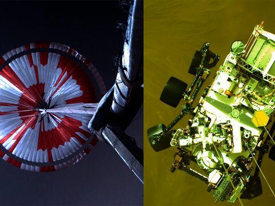 Nasa divulga vídeo do pouso do jipe-robô Perseverance em Marte – veja