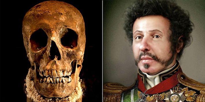 Veja como um artista reconstituiu o rosto de Dom Pedro I