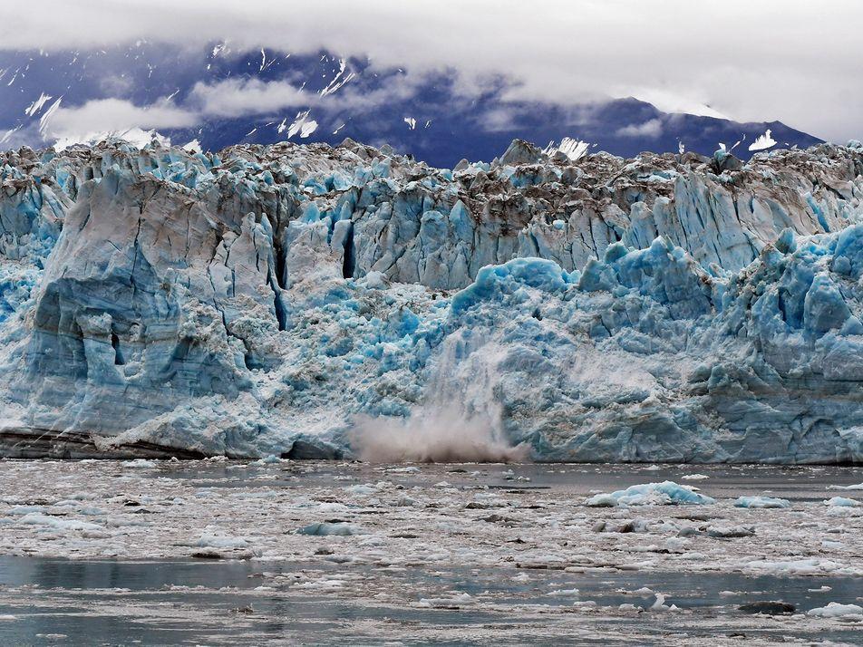 Geleiras do Alasca estão derretendo 100 vezes mais rápido do que se imaginava