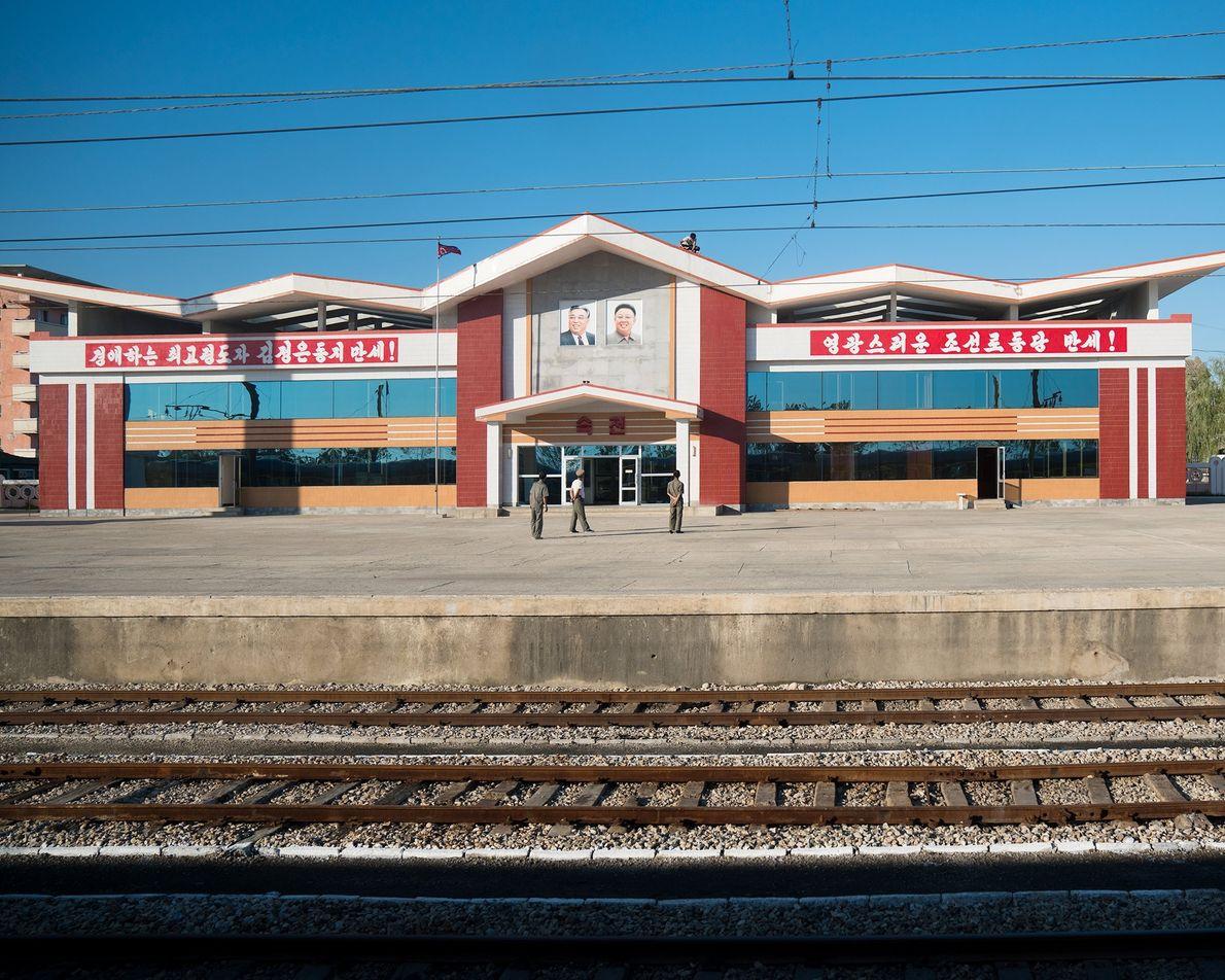 O percurso de Pequim a Pyongyang passa por uma plataforma tranquila.