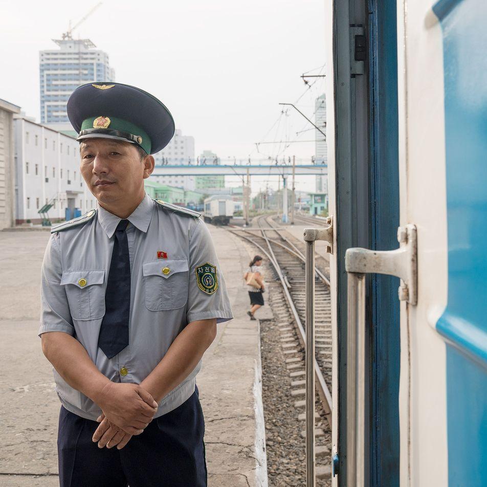 Fotos: Viaje de trem pelo raramente visto interior da Coreia do Norte