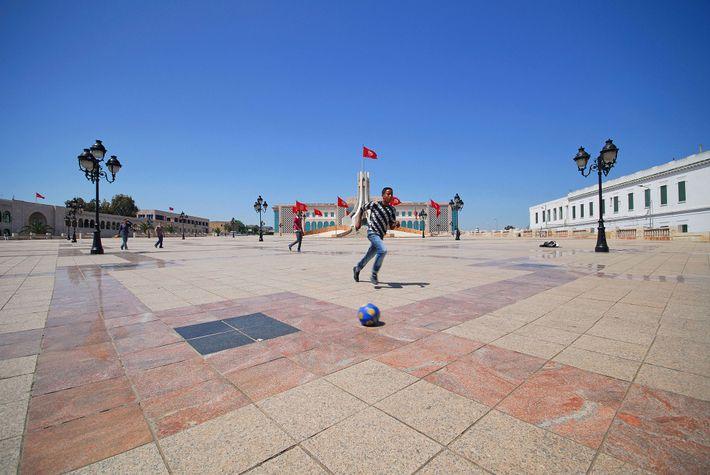 foto de esporte na Tunísia