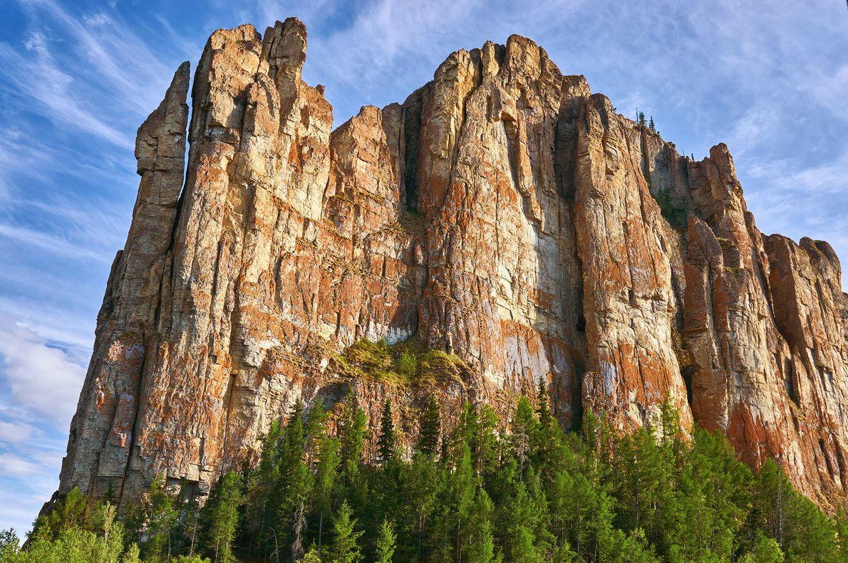 Lena Pillars Natural Park