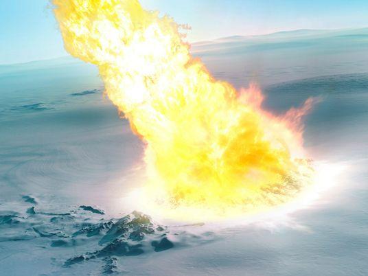 Há 430 mil anos, meteoro explodiu na Antártica e deixou pistas nos escombros