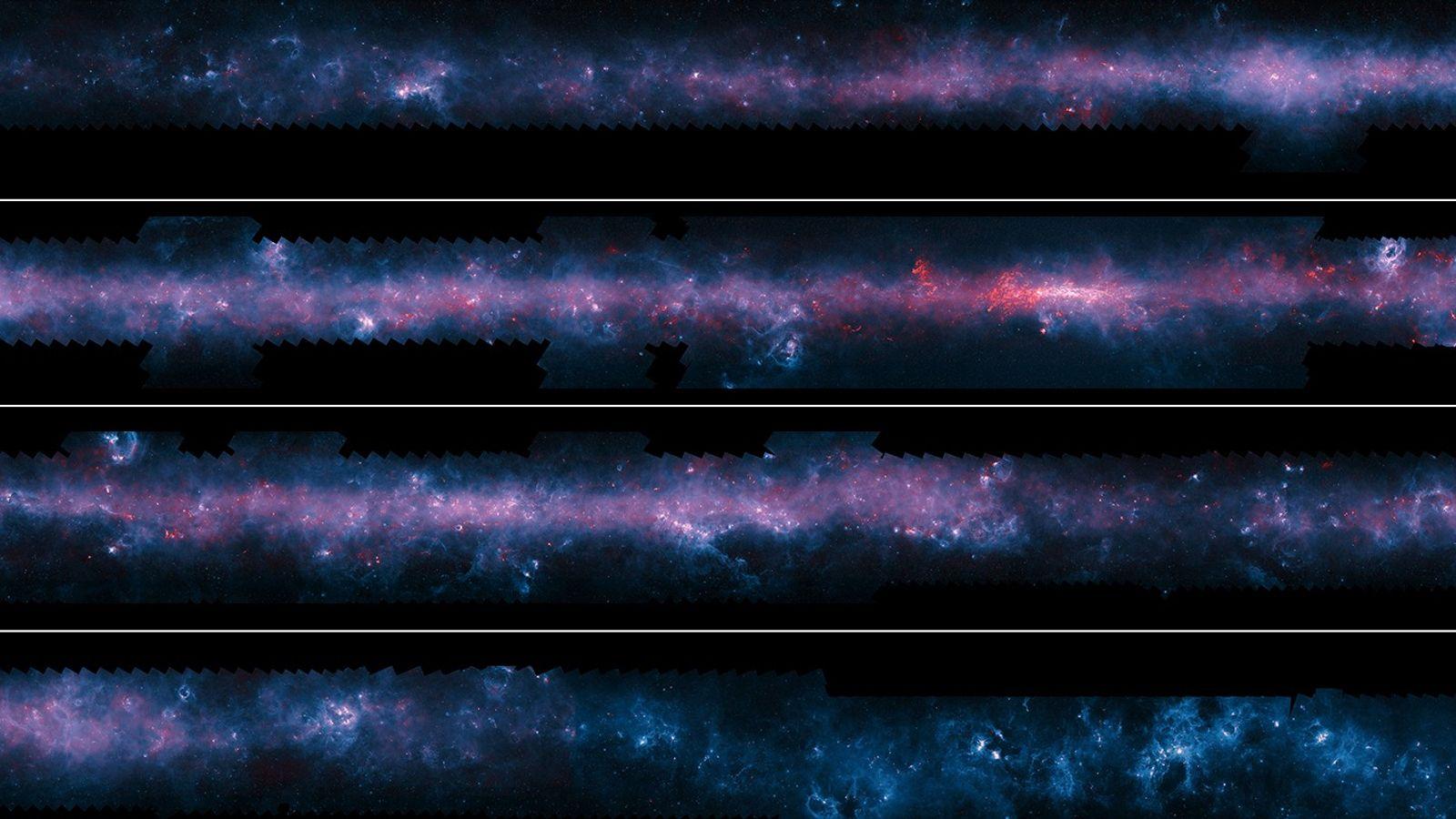 Via Láctea em detalhes